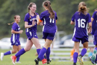 Sevier County girls soccer team