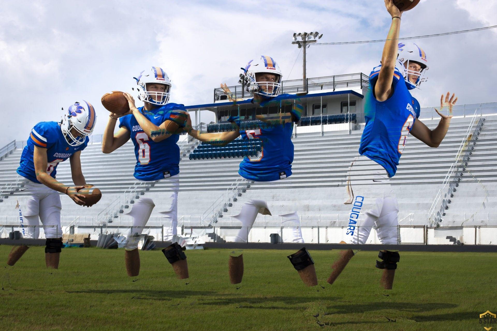 Campbell County quarterback Landon Addington (Photo by Danny Parker)