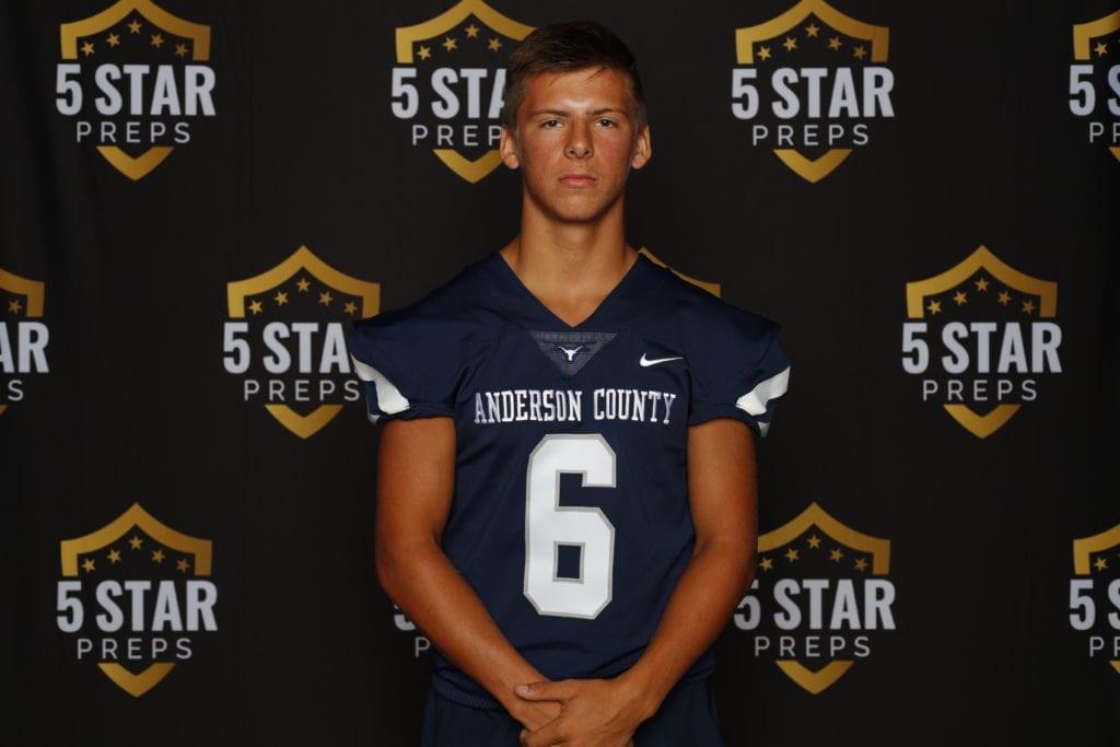 Austin Elliott of Anderson County