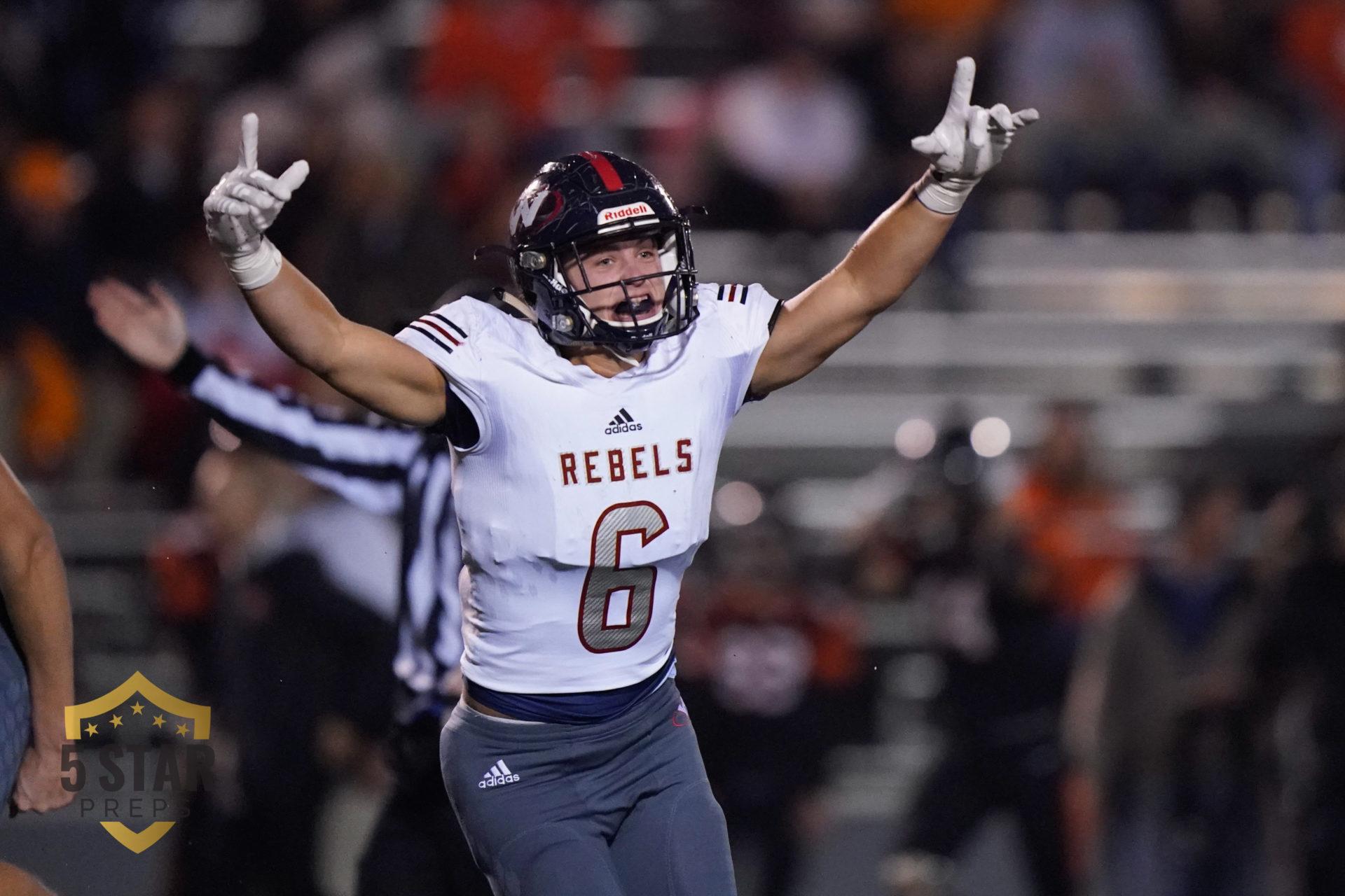 Tssaa 5a State Football Playoffs 2019 West Vs Powell Nov 22 Five Star Preps